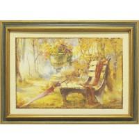 Картина для дома Династия 05-014-01 Лавочка в парке
