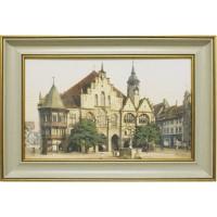 Часы картины Династия 05-015-03 Старинная площадь