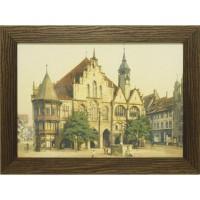 Часы картины Династия 05-015-05 Старинная площадь