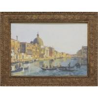 Часы картины Династия 05-016-08 Гранд-канал Венеции