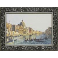 Часы картины Династия 05-016-09 Гранд-канал Венеции