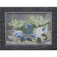 Картина для дома Династия 05-033-09 Утренние ландыши