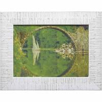 Часы картины Династия 05-036-04 Речная арка