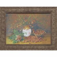 Часы картины Династия 05-044-08 Плоды шиповника