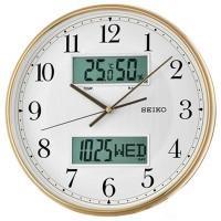 Настенные часы Seiko QXL014GN с датой