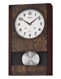 Настенные часы Seiko QXM359BM с маятником и музыкой