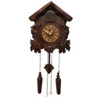 """Настенные часы с кукушкой Columbus """"Избушка"""" CQ-025"""