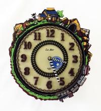 Настенные музыкальные часы La Mer GF 001001