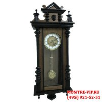 Старинные настенные часы с боем Philip Haas-1