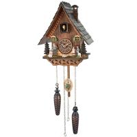 Кварцевые настенные часы с кукушкой и мелодией Trenkle 4235 QM
