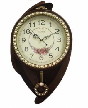 Большие настенные часы с маятником Kairos KBN006B